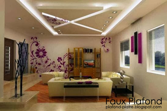faux plafond 2015 salon isolation id es. Black Bedroom Furniture Sets. Home Design Ideas
