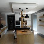 Faux plafond ilot cuisine