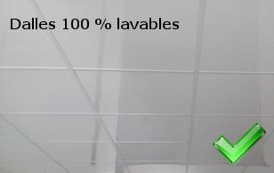 Plaque pour plafond cuisine isolation id es - Faux plafond suspendu en dalles isolantes ...