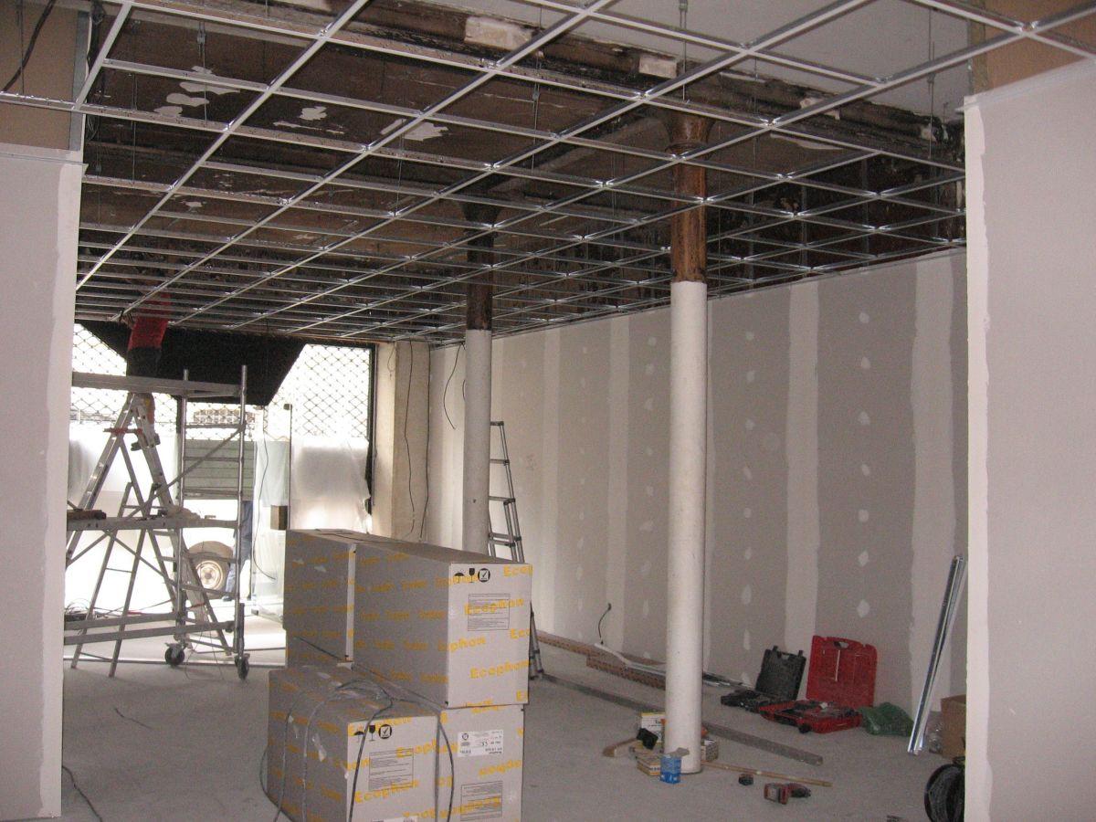 ossature pour plafond isolation id es. Black Bedroom Furniture Sets. Home Design Ideas