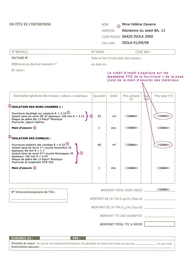Credit impots pour isolation des combles isolation id es - Credit impot isolation 2017 ...