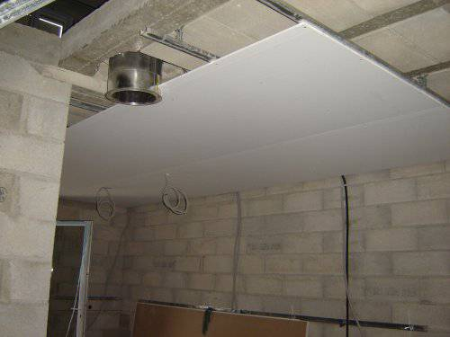 Faux plafond pas cher isolation id es - Refaire un plafond en placo ...