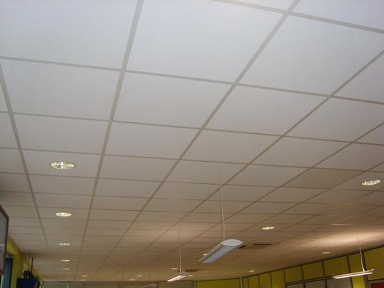 Faux plafond 60 x 60 isolation id es - Faux plafond industriel ...