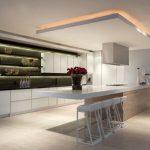 Faux plafond suspendu cuisine