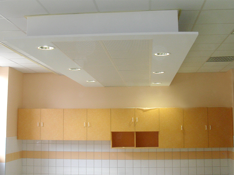 Faux plafond cole isolation id es for Idee faux plafond pas cher