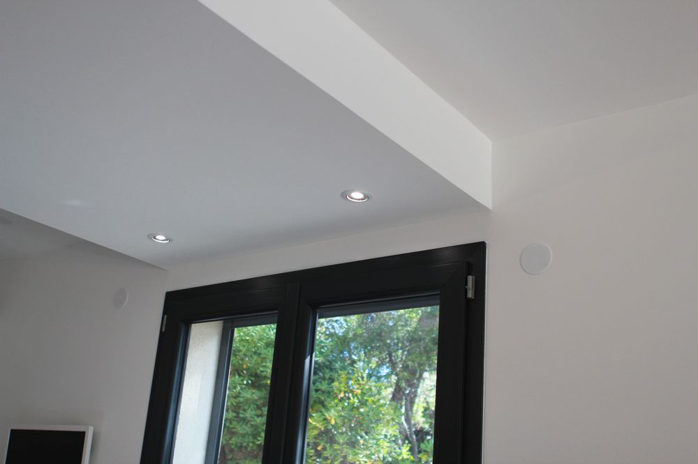 Faux plafond en placo isolation id es for Idee faux plafond pas cher