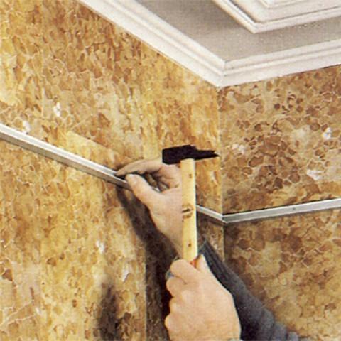 Faux plafond suspendu pour salle de bain - Isolation idées