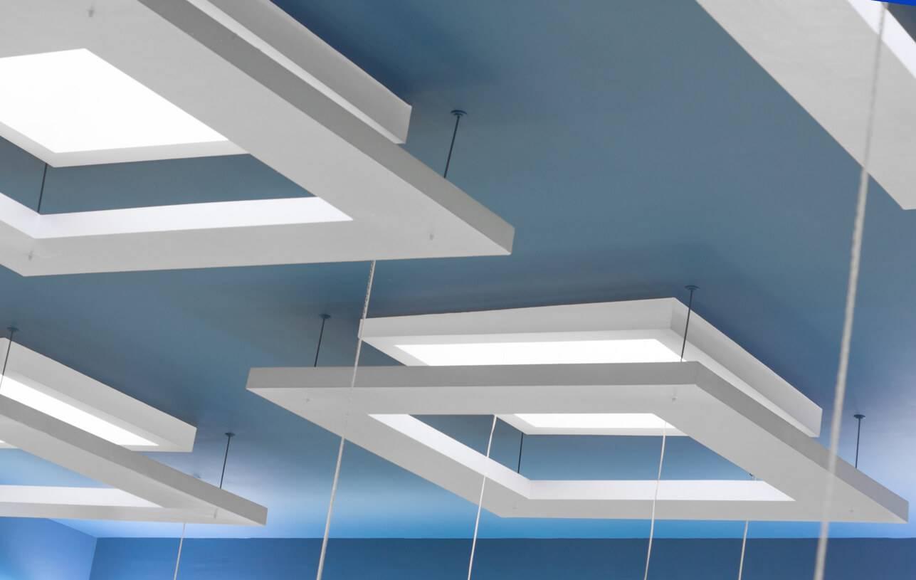 faux plafond suspendu ou tendu isolation id es. Black Bedroom Furniture Sets. Home Design Ideas