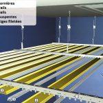 Comment poser faux plafond suspendu