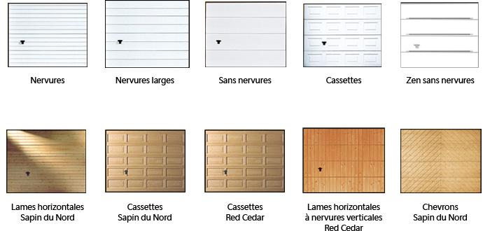Porte de garage nord isolation id es - Porte de garage sectionnelle woodgrain ...
