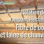 Isolation combles perdus avec laine de bois