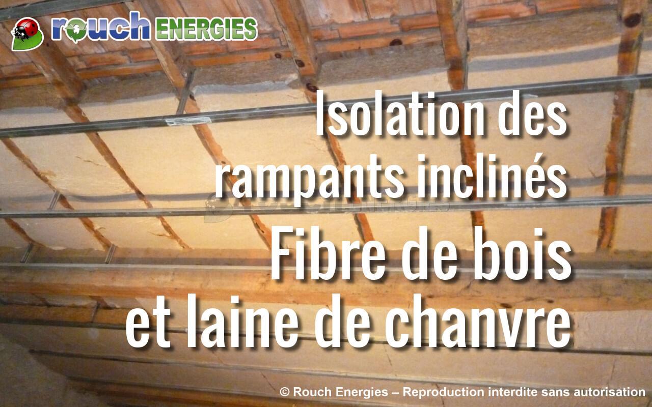 Isolation des combles fibre de bois