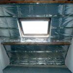 Isolation combles laine de verre plus isolant mince