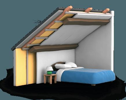 isolation des combles subvention isolation id es. Black Bedroom Furniture Sets. Home Design Ideas