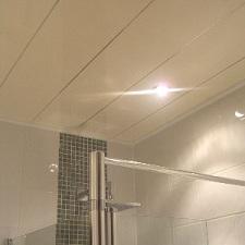 Lambris pvc salle de bain plafond - Isolation idées