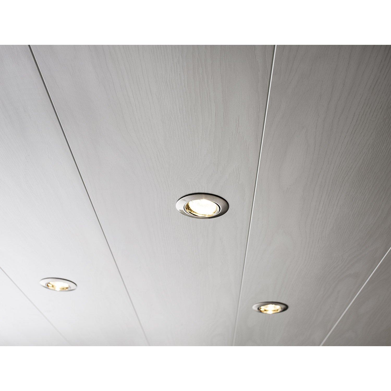 Lambris pvc imitation bois plafond isolation id es - Lambris pvc plafond pas cher ...