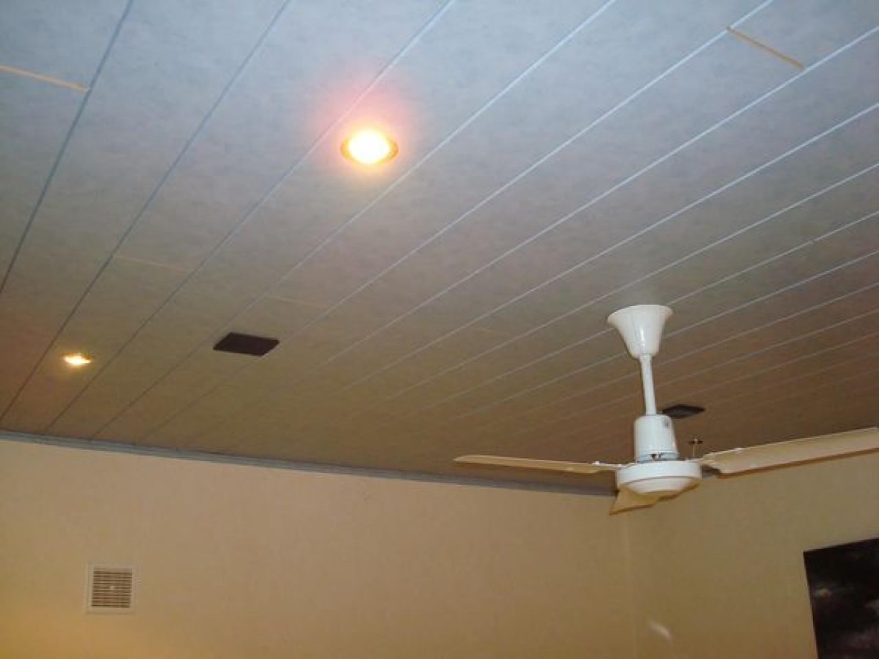 Lambris pvc faux plafond - Isolation idées