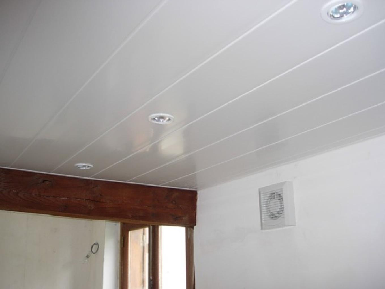 plafond pvc isolation id es. Black Bedroom Furniture Sets. Home Design Ideas