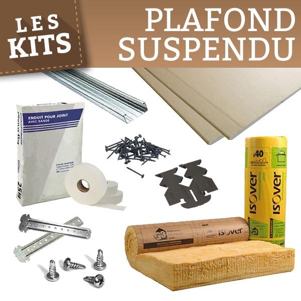 Faux plafond kit isolation id es - Plaque de placo pas cher ...