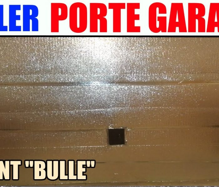 Installation porte de garage youtube