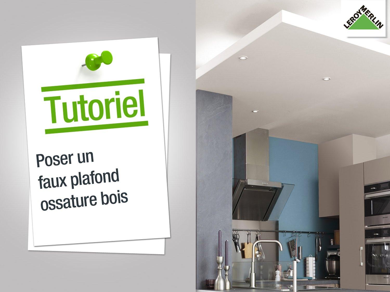 Comment faire faux plafond isolation id es - Faux plafond suspendu lumineux ...