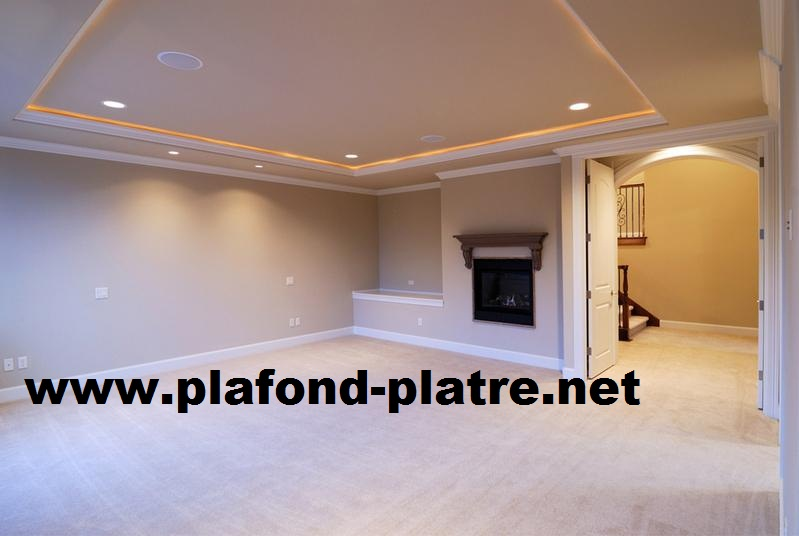 Construire faux plafond isolation id es for Model faux plafond salon