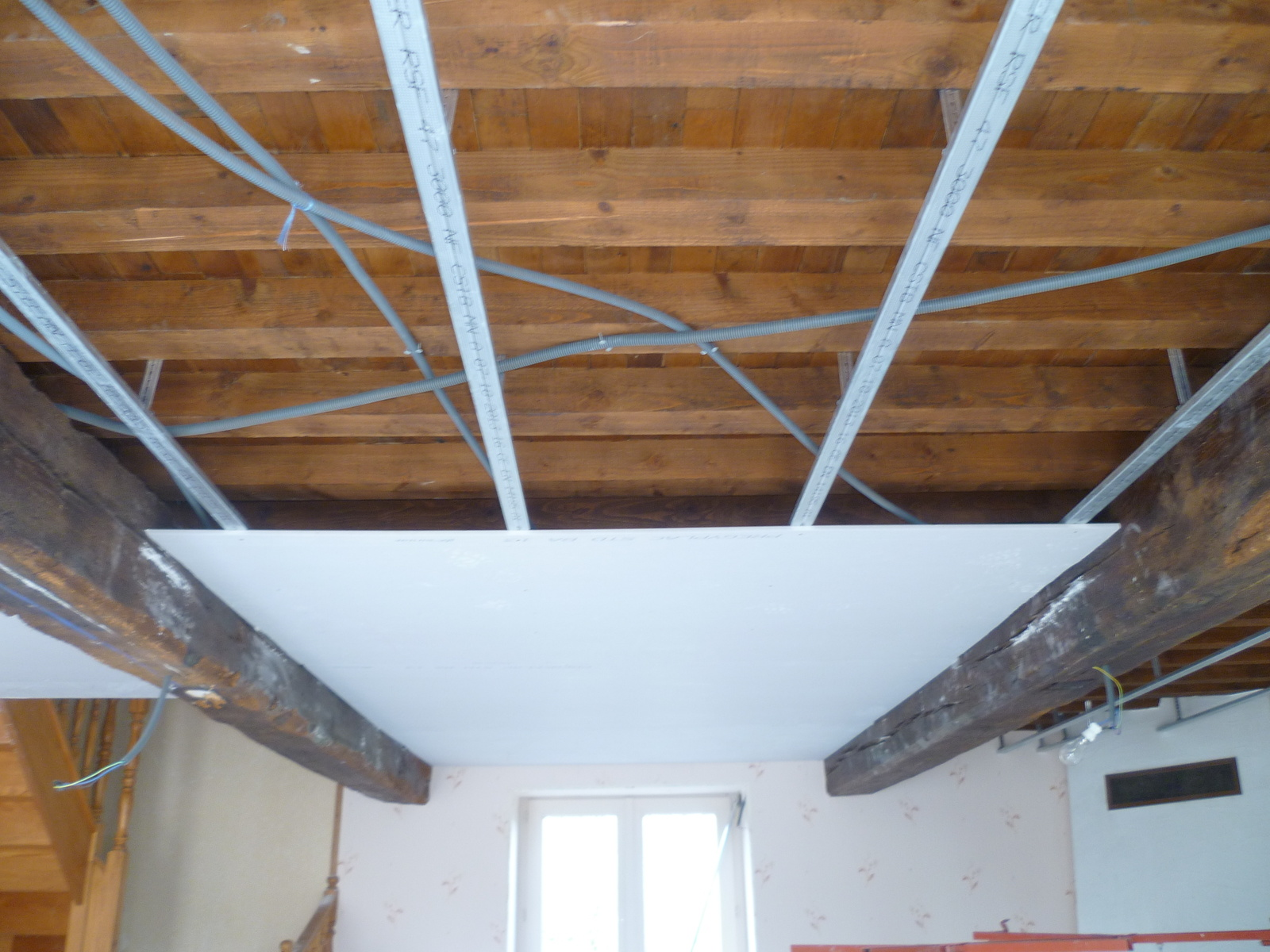 Plafond suspendu placo isolation id es - Isolation phonique plafond suspendu ...
