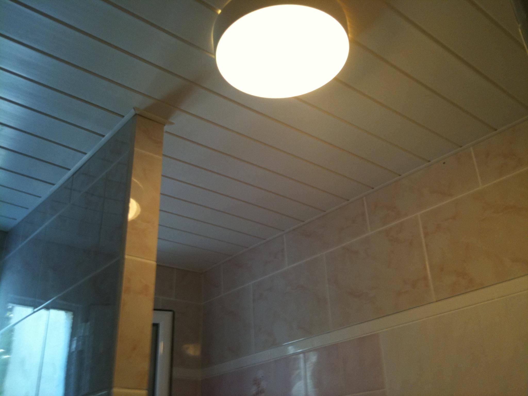 plafond suspendu pvc isolation id es. Black Bedroom Furniture Sets. Home Design Ideas