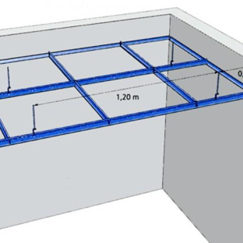 Faux plafond ossature isolation id es - Faux plafond suspendu lumineux ...