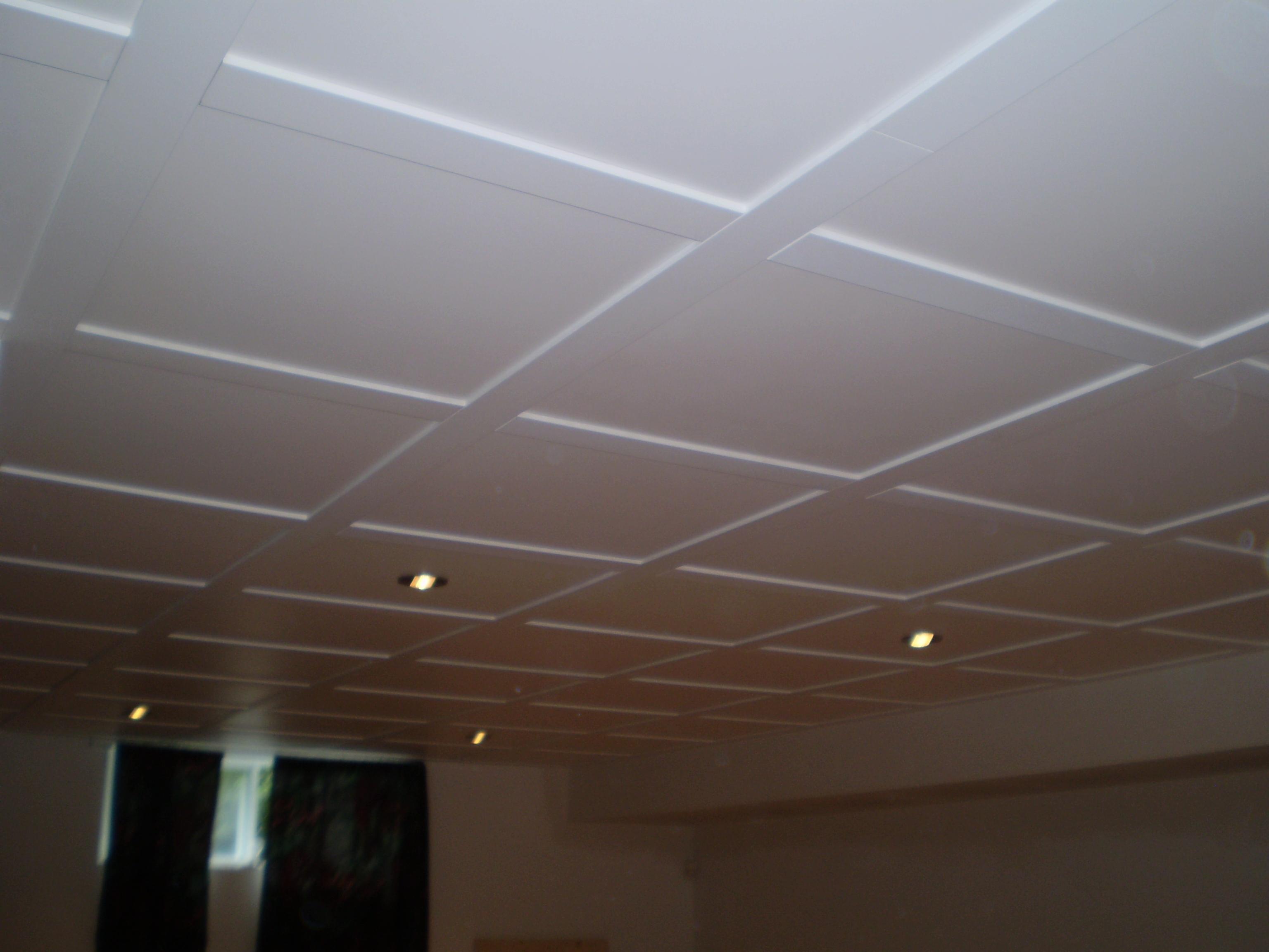 plafond suspendu en mdf isolation id es. Black Bedroom Furniture Sets. Home Design Ideas