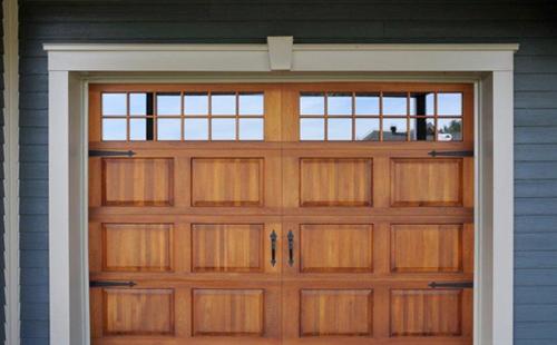 Porte de garage bois isolation id es - Isolation porte de garage battant bois ...
