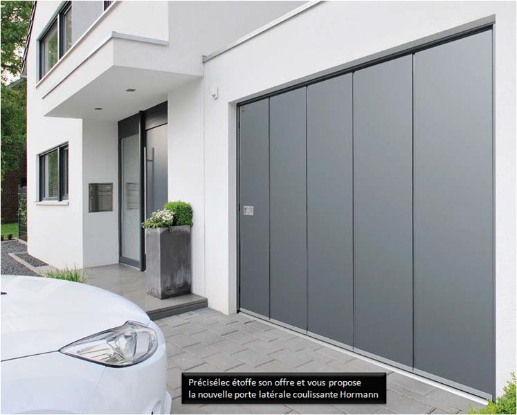 Porte De Garage Hormann Sur Mesure Isolation Idées - Porte de garage coulissante sur mesure