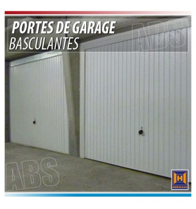 Porte de garage basculante hormann isolation id es for Porte de garage industrielle hormann