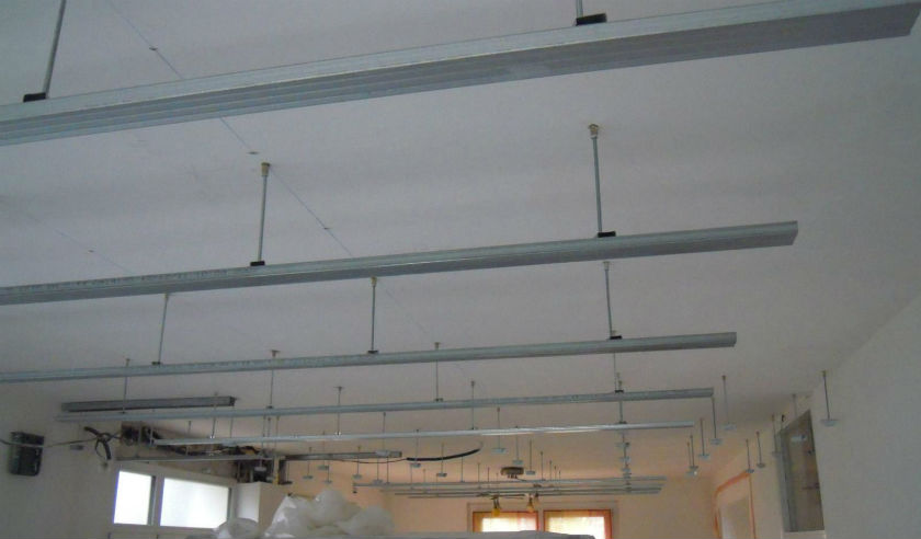 Plafond suspendu meilleur prix isolation id es for Plafond suspendu prix