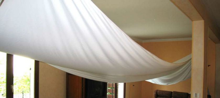 Plafond suspendu tissu isolation id es - Isolation phonique plafond suspendu ...