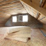 Isolation combles perdus laine de bois