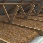 Isolation combles granules