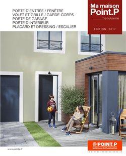 porte de garage coulissante point p isolation id es. Black Bedroom Furniture Sets. Home Design Ideas