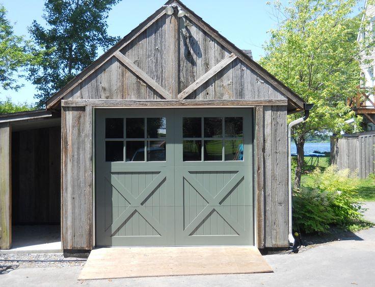 Porte de garage enroulable couleur bois isolation id es - Isolation porte de garage battant bois ...