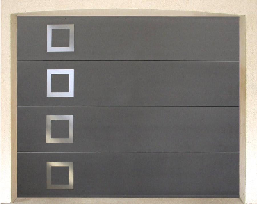 porte de garage sectionnelle fame isolation id es. Black Bedroom Furniture Sets. Home Design Ideas