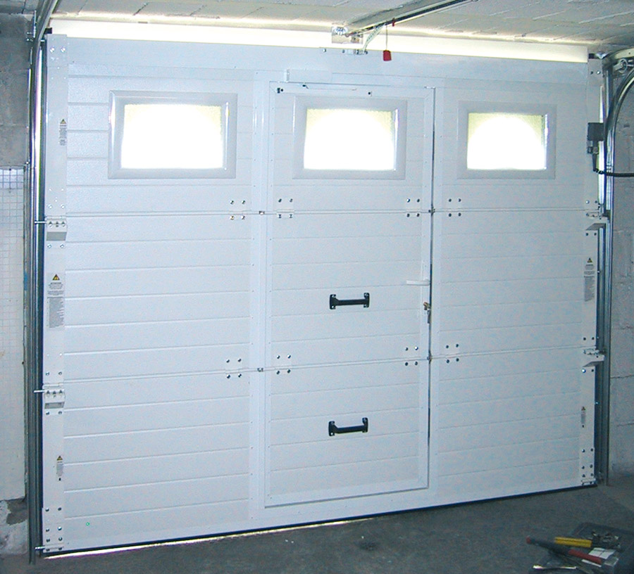 Porte de garage basculante fame isolation id es - Isolation porte de garage coulissante ...