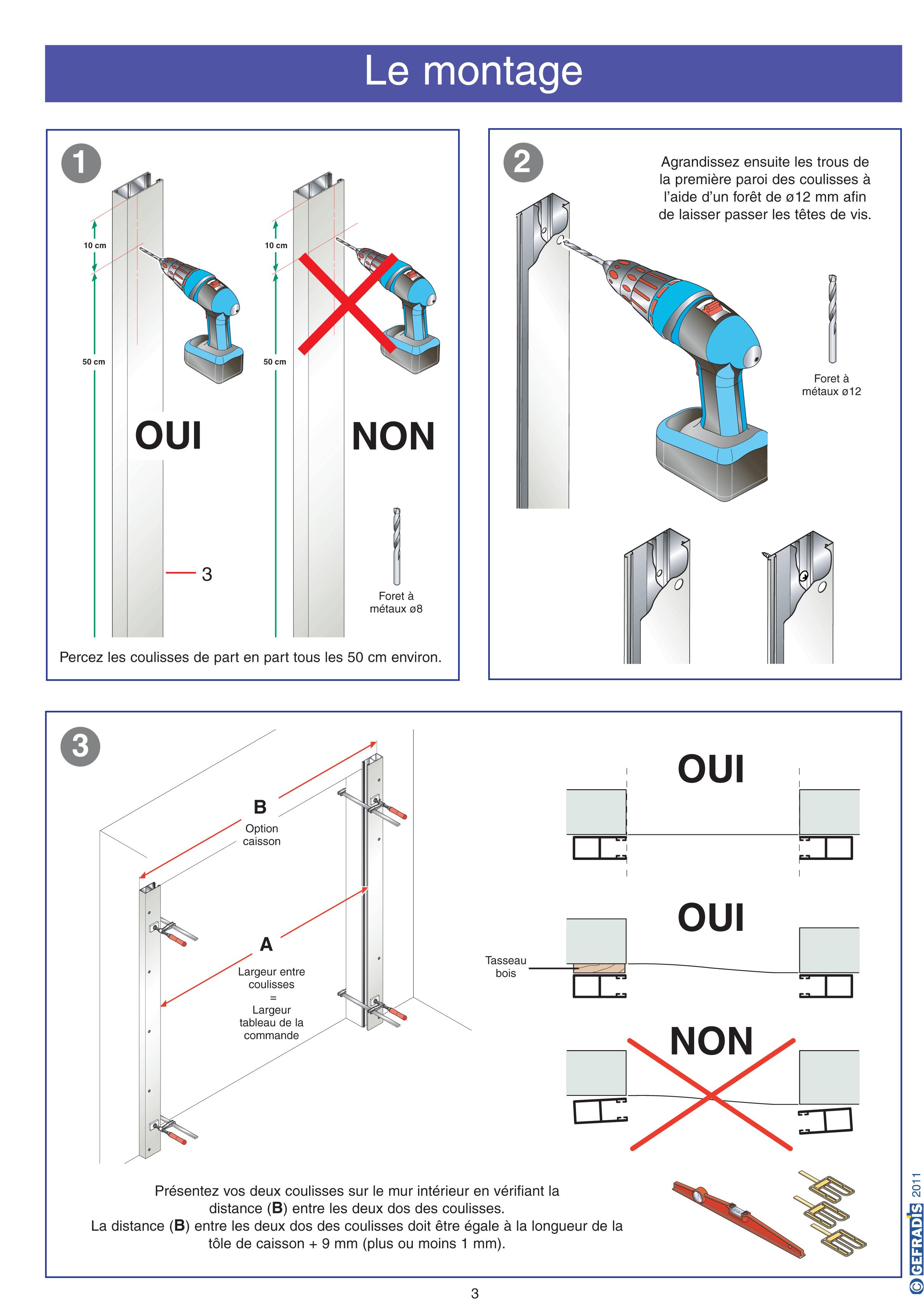 Porte de garage enroulable pose en tableau isolation id es for Isolation porte de garage enroulable
