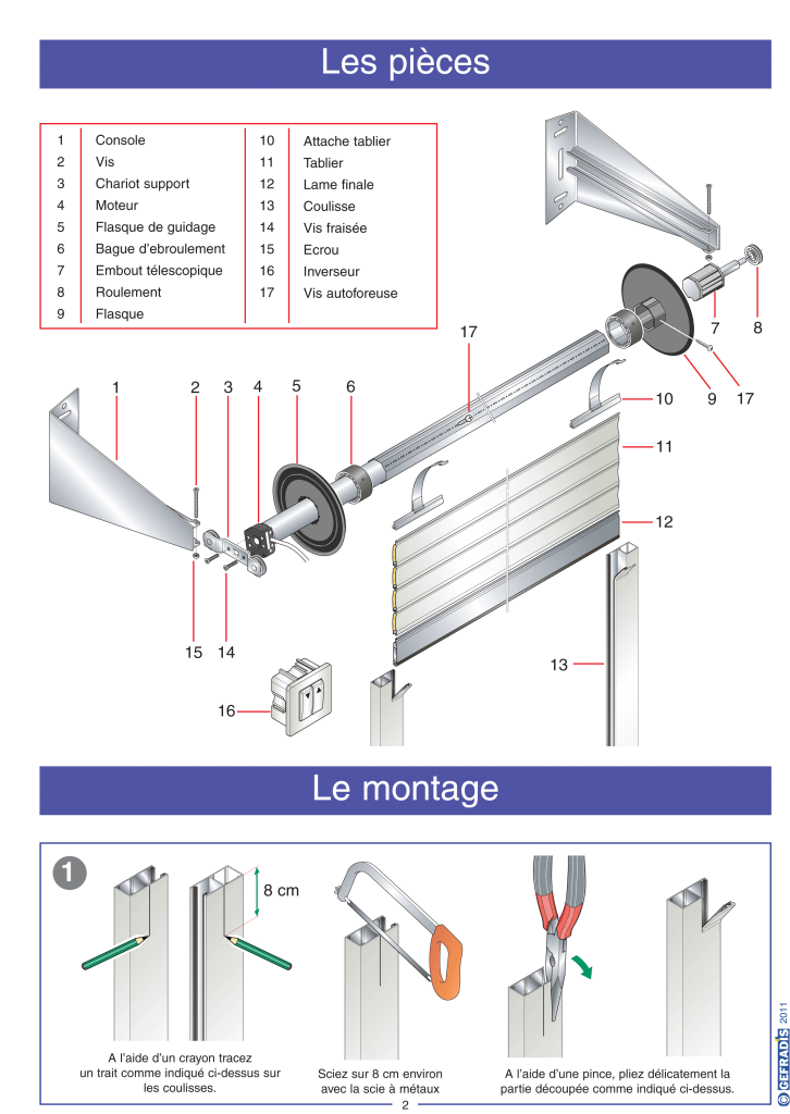 Porte de garage enroulable gefradis isolation id es for Isolation porte de garage enroulable