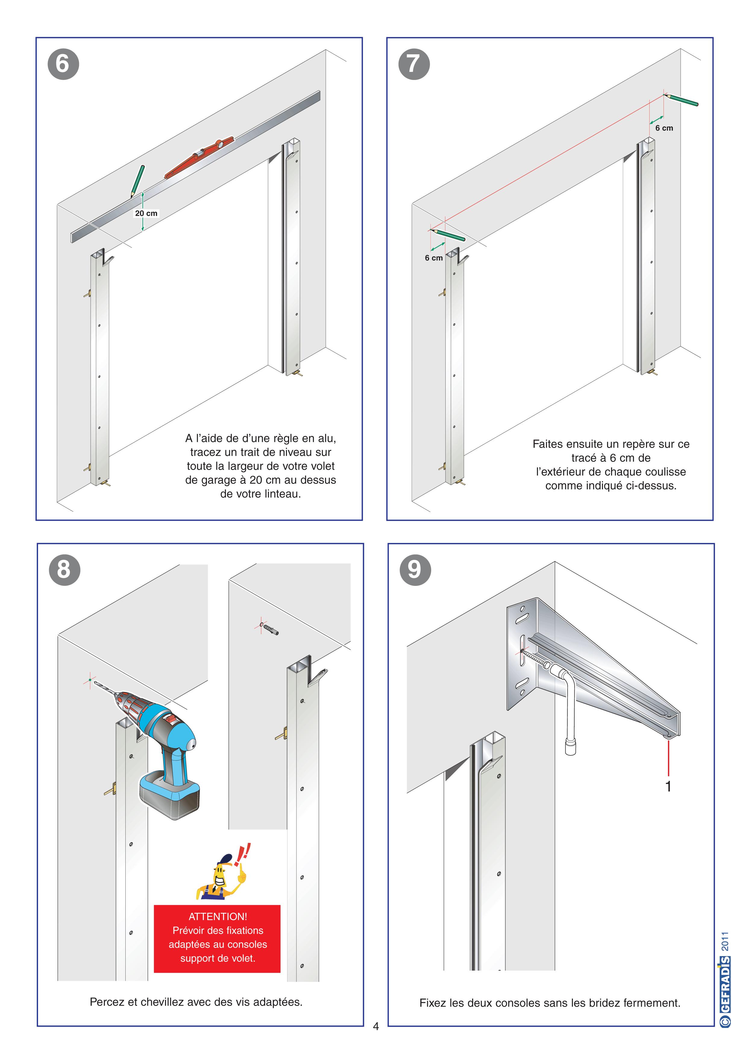 Porte de garage enroulable sans coffre isolation id es - Pose porte de garage enroulable ...