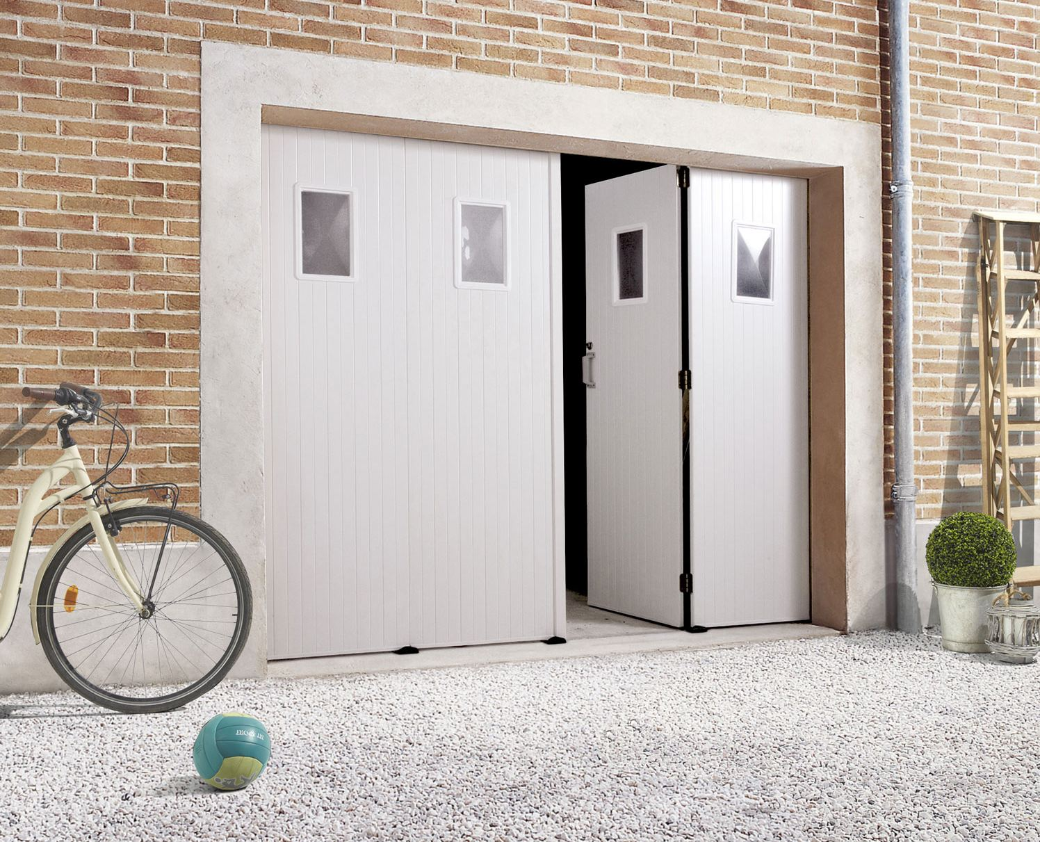 Porte de garage coulissante bois leroy merlin isolation - Garage bois leroy merlin ...