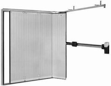 Porte de garage enroulable laterale isolation id es - Porte sectionnelle crawford ...