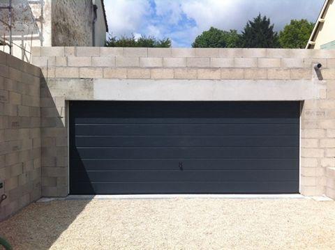 porte de garage sectionnelle gris 7016 isolation id es. Black Bedroom Furniture Sets. Home Design Ideas
