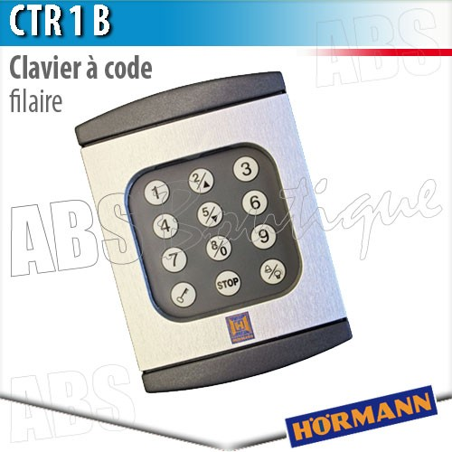 Clavier porte de garage hormann isolation id es for Commande porte de garage hormann
