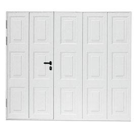 Porte De Garage Basculante Isolante Avec Portillon Isolation Idées - Porte de garage basculante avec portillon