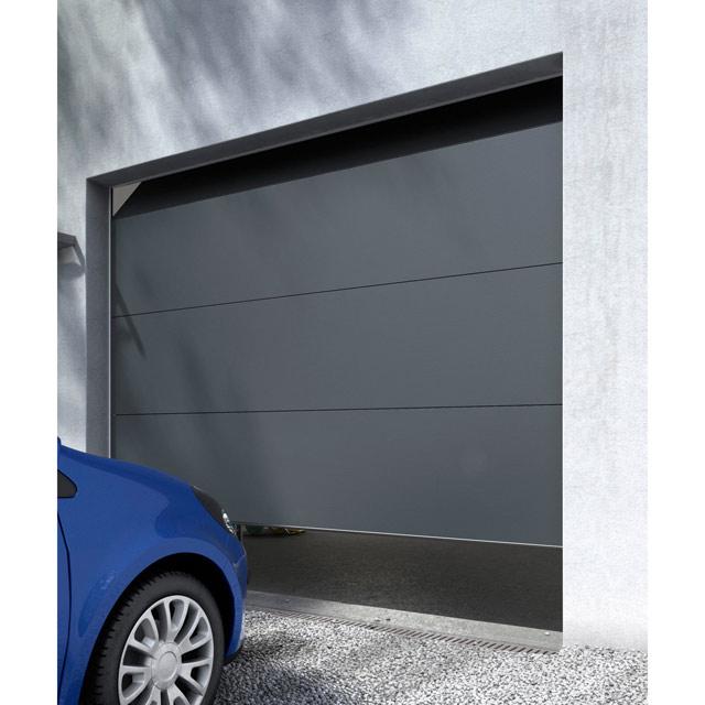 Porte de garage sectionnelle avec portillon castorama isolation id es - Porte de garage pas cher belgique ...